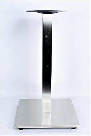 Duisburg 4x Tischbein Tischfu/ß 105 cm rund Edelstahl Durchmesser 8,9 cm verstellbare Bodengleiter