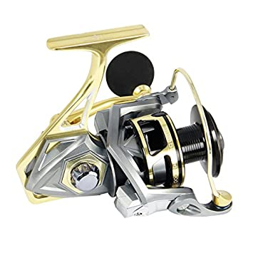 AnglerDream Bumblebee Fishing Reels 10BB 5.2 1 Ratio Spinning Fishing Reel Saltwater Freshwater Fish Reels 2500 3000 4000 5000 Series Reel