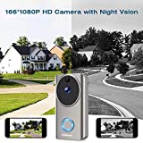 Campark WiFi Video Doorbell Camera with