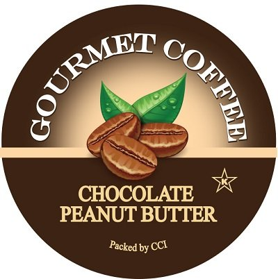 - Smart Sips, Chocolate Peanut Butter Gourmet Coffee, 24 Count, For Keurig K-Cup Brewers