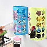Plastic Storage Box Organizer Garbage Bags Collection Box (Green)
