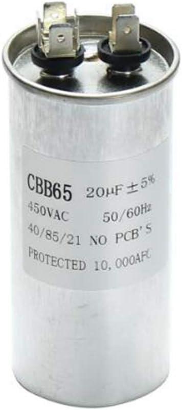25uF LaDicha 15-50uF Motor Capacitor CBB65 450VAC Air Conditioner Compressor Start Capacitor C