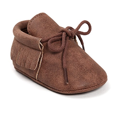 Isbasic Baby Shoes For Boys Girls Non-Slip Toddler Moccasinss Crib Shoes Review