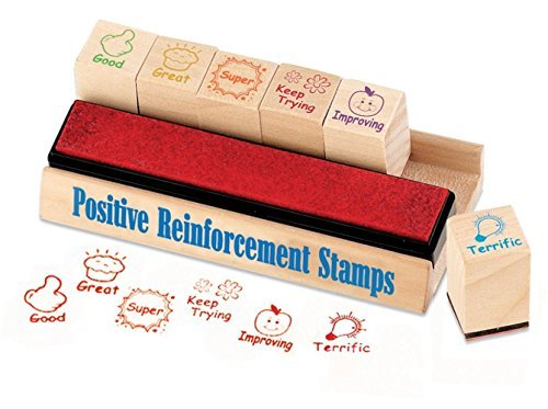 5 X Educational Insights Positive Reinforcement Stamps