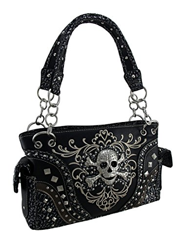 Zeckos Size Shoulder Bag For Single Women, Black Color, Size One Size