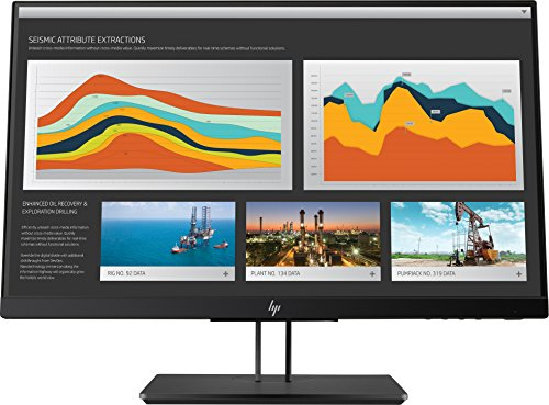 (HP 21.5-Inch Screen LED-lit Monitor Space Silver/Black Pearl Chin/Die-Cast Aluminum Base with Black Pearl Paint (1JS05A4#ABA))
