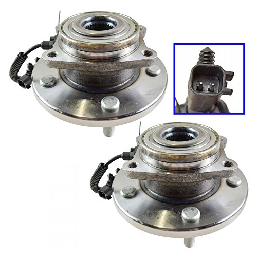 Front Wheel Hub & Bearing Pair Set for Town & Country Grand Caravan Routan (Van Bearing Front Hub)