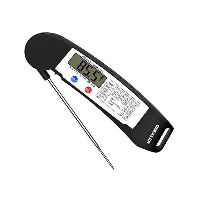 GDEALER Instant Read Thermometer Super Fast Di...