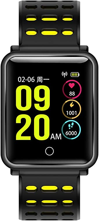 FocuSmart Watch, New Bluetooth 4.2 Smart Watch IP68 ...