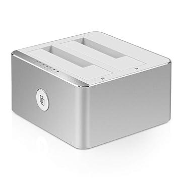 WULAU Estación de Acoplamiento de Disco Duro USB 3.0 función de ...