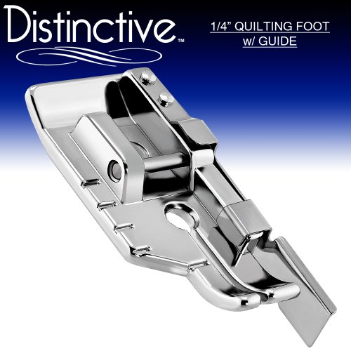 1-4 Quilting Sewing Machine Presser Foot with Edge Guide