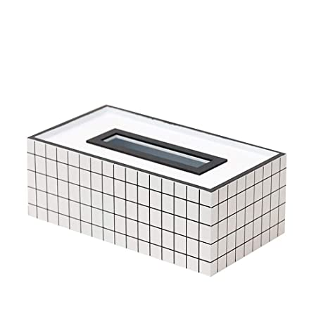 WHYDIANPU Titular de la caja del tejido Caja de pañuelos caja de ...