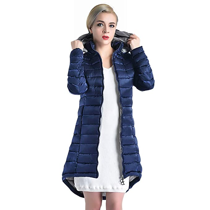 926f498e858d8 COUTUDI - Chamarra de Invierno para Mujer con Capucha de algodón ...