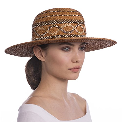 Eric Javits Designer Women's Luxury Headwear - Yasha Hat Honey Mix by Eric Javits