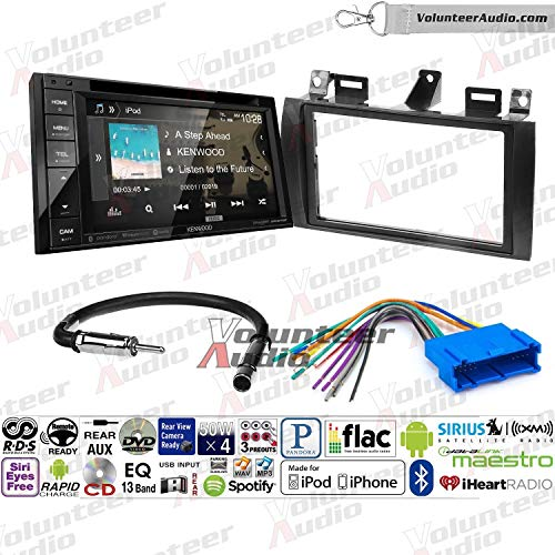 ood DDX276BT Double Din Radio Install Kit with Bluetooth, Sirius XM Ready, Touchscreen Fits 2000-2005 Cadillac Deville, 1996-2004 Seville ()