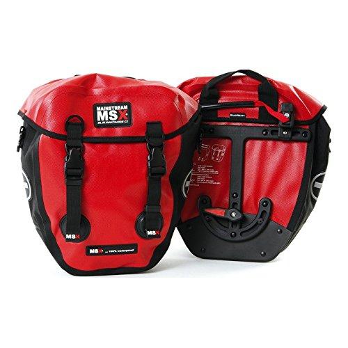 MSX Einzelpacktasche ML 55 Multiroller CX Satz à 2 Taschen, Volumen je Tasche ca. 12,5l Wasserdichte Packtasche in Basic Front, auch für Lowrider geeignet, One-Touch-System ermöglicht schnelle und einfache (De-)Montage, Rollverschluss mi