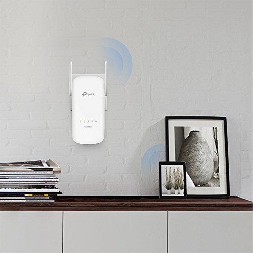 TP-Link TL-WPA8630 KIT - PLC con WiFi Doble Banda y 2 Adaptadores (WiFi 1300Mbps, Extensor, Repetidores de Red, Cobertura Internet,...