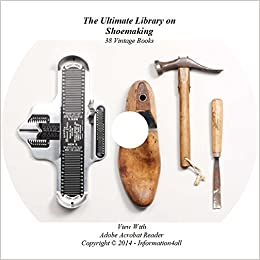 Shoemaking, Ultimate Library on CD - 38 Books, How to, Shoes
