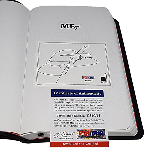 AUTOGRAPHED Gene Simmons (Lead Singer of KISS) ME INC. BUILD AN ARMY OF ONE, UNLEASH YOUR INNER ROCK GOD, WIN IN LIFE AND BUSINESS Rare Hand Signed Book with PSA/DNA COA