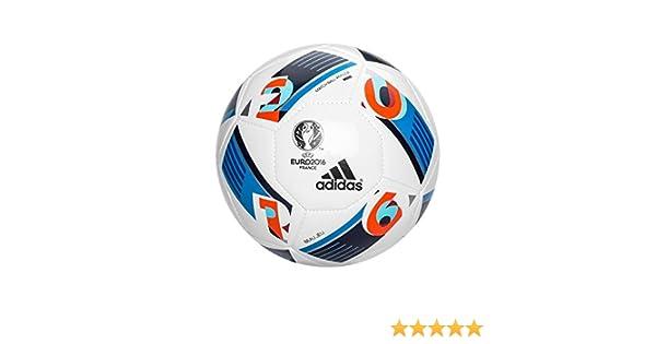 adidas Euro16 Mini - Balón para Hombre, Color Blanco/Azul/Rojo ...
