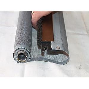 AWITALIA - Rete per zanzariera prodotta su misura (made in Italy) dimensioni 100x200 (larghezza x altezza)Rete Grigia a… 9 spesavip
