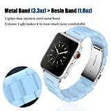 V_moro Apple Watch Band 38mm 42mm Women - Fashion Resin...