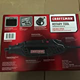Craftsman Sears Variable Speed Rotary Tool Kit w/40 Accessories and Durable Storage Case (F0133000AC)