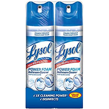 Amazon Com Lysol Bathroom Cleaner Spray Island Breeze