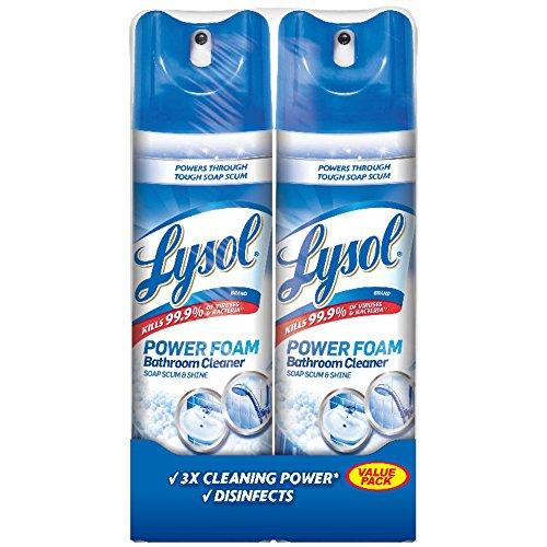 Lysol Bathroom Cleaner Spray, Island Breeze, 48oz - Cleaner Lysol Bathroom