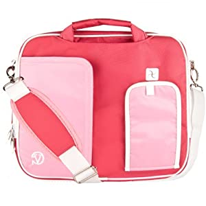 "VanGoddy Pindar Rose Pink Messenger Bag for iBall CompBook/iBall Slide 10""-12inch"
