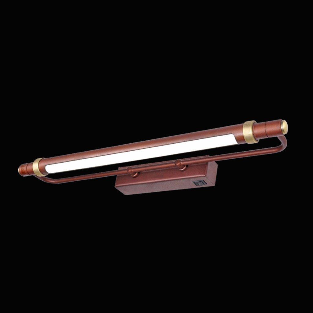 badezimmerlampe LED-Spiegelscheinwerfer, Badezimmerspiegellampe Badezimmerspiegellampe wasserdichtes Badezimmerlicht (Farbe   Warmes Licht-6w 53cm)
