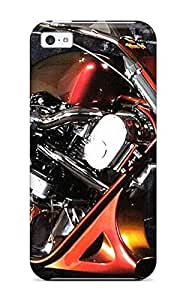 Perfect Fit Kwisuxe1688pazag Motorcycle Case For Iphone - 5c Sending Screen Protector in Free