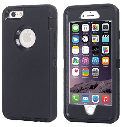 Ai-case Built-in Screen Protector Tough 4 in 1 Rugged Shockproof Cover With Kickstand for iPhone 6 Plus/6S Plus