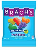 Brach's Sugar Free Fruit Slices Gummy Candy, 3 Ounce Bag, Pack of 12