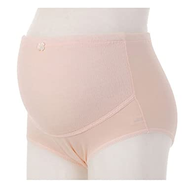 960a1c6dd9c80 Hibote Pregnant Belly Care Maternity Panties Brief Pregnancy High Waist  Underwear 2PCS/Lot: Amazon.co.uk: Clothing
