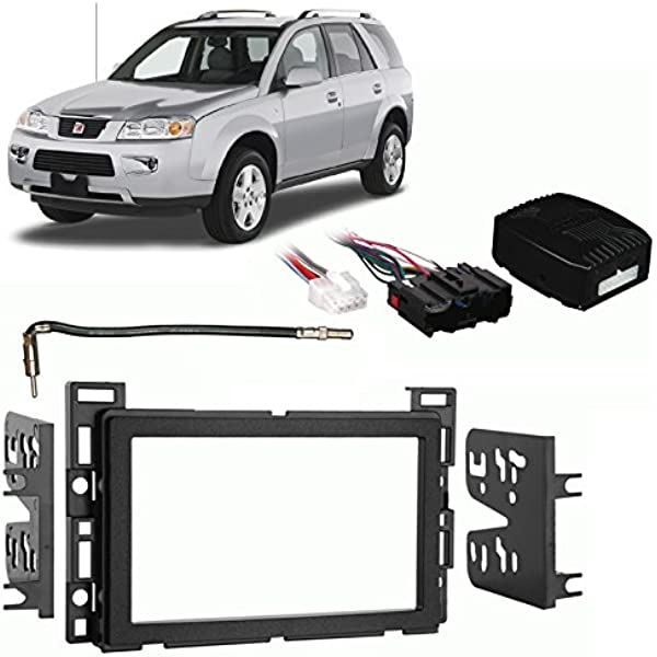 saturn stereo wiring harness amazon com compatible with saturn vue 2006 2007 double din stereo  saturn vue 2006 2007 double din stereo