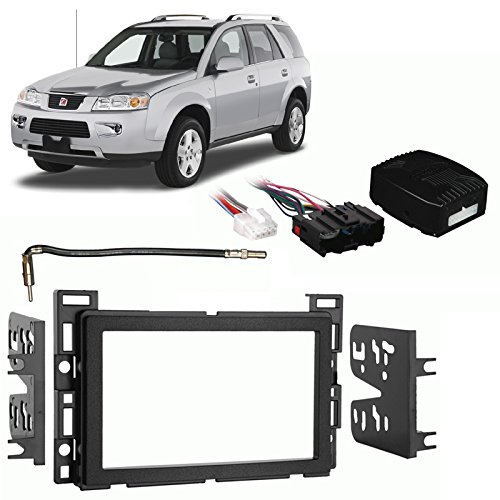 Fits Saturn Vue 2006-2007 Double DIN Stereo Harness Radio Install Dash Kit