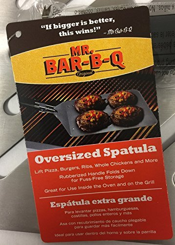 Mr. Bar-BQ Stainless Steel Oversized Spatula/Unboxed