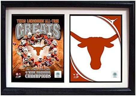 Amazon.com: Encore Select 124 – Marco doble de 23 NCAA Texas ...