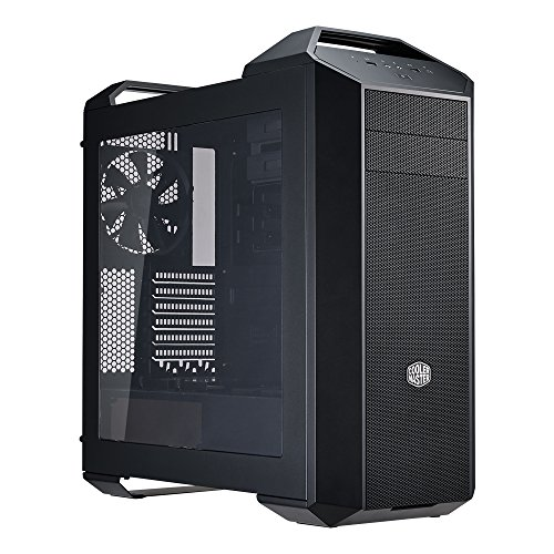MasterCase 5 Mid-Tower Computer Case with FreeForm Modular System, Dual Handle Design and Window Side Panel (Cooler Master Window Side Panel)