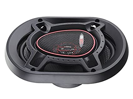 2 Speakers Silk Dome Tweeters 150W Max 2-Way 50W RMS 6.5 DS18 GEN-X6.5C Component Set Clarity Unparalled by Other Speakers in Their Class 4 Ohms Black Paper Cone