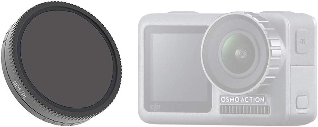 HMANE ND4-PL Lens Filter Camera Lens for DJI OSMO Action