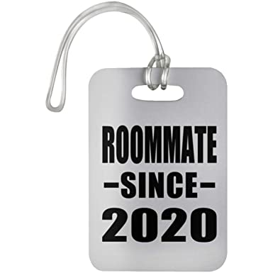 Designsify Roommate Since 2020 - Luggage Tag Etiqueta para ...