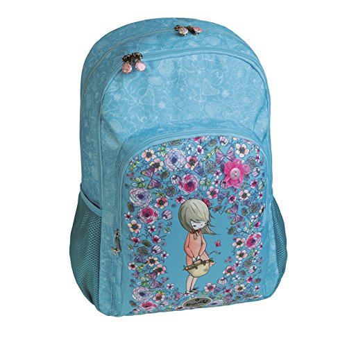 Busquets -double school backpack PETALS