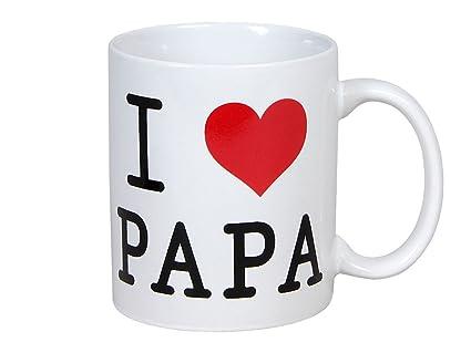 Ml Papa Coeur De Sympa Cadeau L'inscription Et Blanc I Environ180 Noir Décor Idée Saint En Mug Rouge Classe Tasse Table Avec Contenance Love v0wmn8N