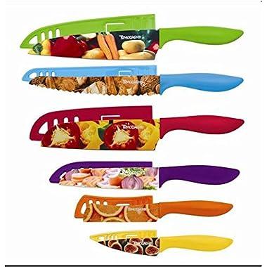 Hampton Forge Tomodachi Splash 12pc PHOTOREAL Print Cutlery Set