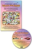 Plotter Art™ Print-N-Cut Color Collection, 1,600 Vector Clip Art Images on DVD-ROM with 130 Page PDF User Guide & Image Gallery. Extended Royalty Free License.