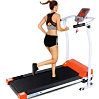 Deals on ANCHEER Folding Treadmill with LCD Monitor
