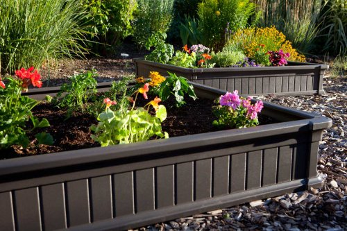 081483009032 - Lifetime 60053 Raised Garde Bed Kit, 2 Beds and 1 Early Start Vinyl Enclosure carousel main 1