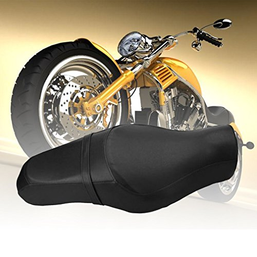 creatspaceDSF Motorcycle Saddle Seats Front Driver Rear Passenger Seats Cushion Pad Motorcycle Accessories 883 XL1200 D: